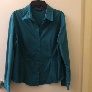 New York & Company Button Down Shirt Size XL